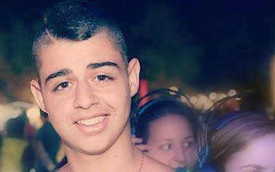 Eden Atias, who was stabbed to death on a bus in Afula, Wednesday, November 13, 2013 (photo credit: Facebook)