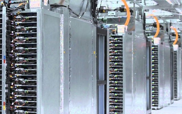 View of a Google Data Center (Photo credit: Courtesy)