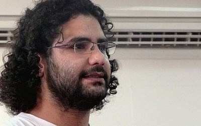 Egyptian activist Alaa Abdel-Fattah, a blogger who rose to prominence in Egypt's 2011 revolution. (Photo credit: CC BY-SA 2.5, Alaa Abd el-Fatah/Wikimedia)