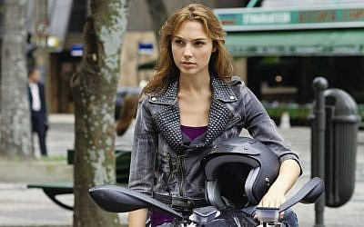 Gal Gadot in a scene from 'Fast and Furious.' (photo credit: courtesy Universal Pictures)