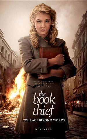 'The Book Thief' poster (photo credit: 20th Century Fox)