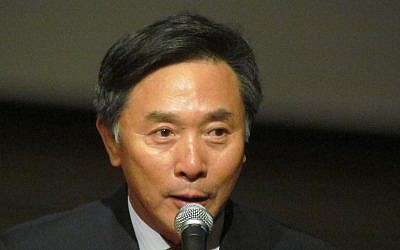 South Korean Ambassador to Israel Kim Il Soo (Photo credit: Courtesy)