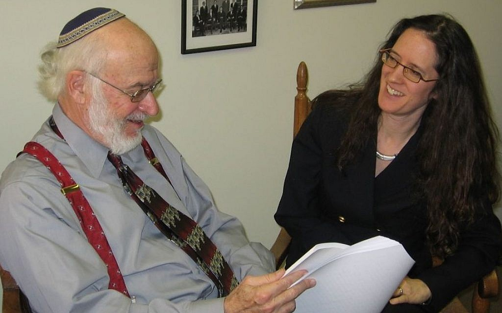 Nathan Lewin, left, and his daughter Alyza created headaches for major Jewish groups by persevering with a so-far unsuccessful lawsuit to get the State Department to recognize Jerusalem-born Americans as born in Israel. (photo credit: Washington Jewish Week/JTA)