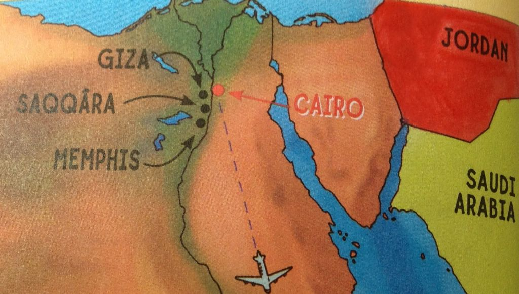 Biggest Childrens Book Publisher Erases Israel From Map The - Map of egypt israel