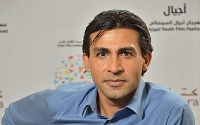 Co-director Nitin Sawnhey at the Ajyal Youth Film Festival. (photo credit: Getty Images)