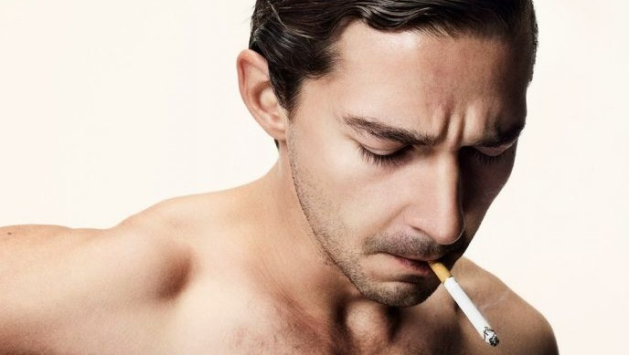 Shia LaBeouf in 'Nymphomaniac' (photo credit: Courtesy Magnolia Pictures)