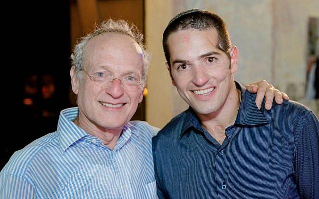 Aharon Karov with OneFamily founder Marc Belzberg. (photo credit: courtesy)