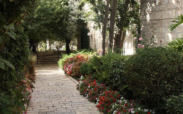Ticho House gardens (photo credit: Shmuel Bar-Am)