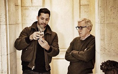 Magician David Blaine drops in on Woody Allen for a malted. (photo credit: courtesy ABC)
