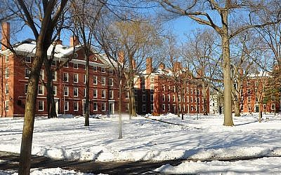 Freshman dormitories in Harvard Yard. (chensiyuan/Wikimedia Commons/GFDL)