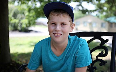 Aaron Maresky, 12, was diagnosed with Crohn's five years ago. (photo credit: courtesy)