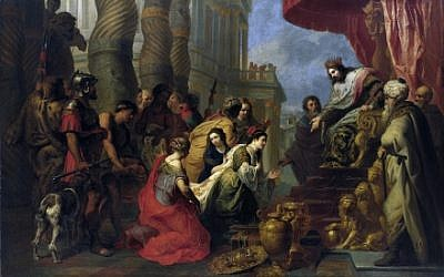 'The Meeting of King Solomon and the Queen of Sheba,' by Erasmus Quellinus, 17th century