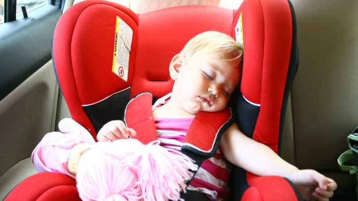 Illustrative Photo Of A Baby Sleeping In Car Seat Credit Chen Leopold