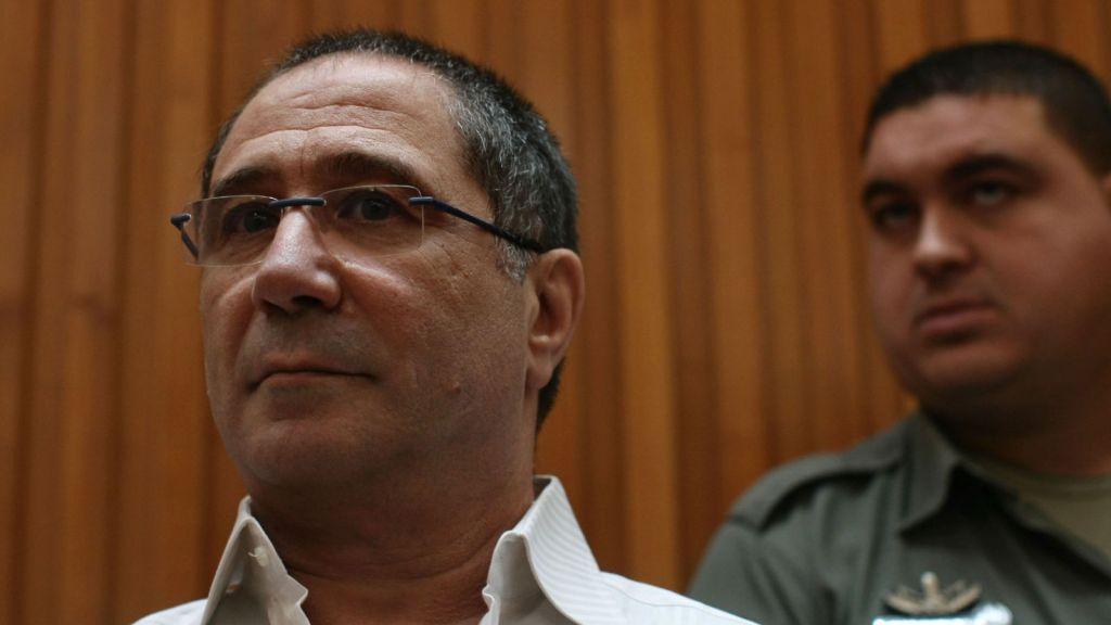 Meir Abergil, in court in Jerusalem, 2010 (photo credit: Kobi Gideon/Flash90)