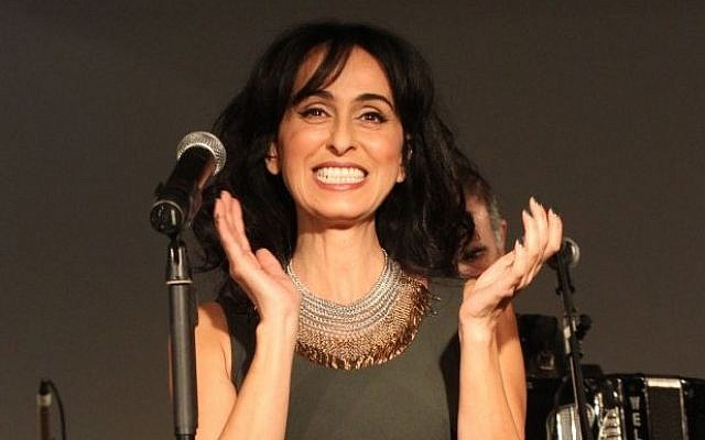 Israeli singer Rita in 2011 (photo credit: Meir Partush/Flash90)
