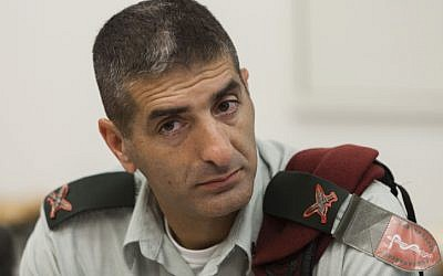 IDF medical corps commander Brig. Gen. Dr. Yitshak Kreiss (Photo credit: Flash 90)
