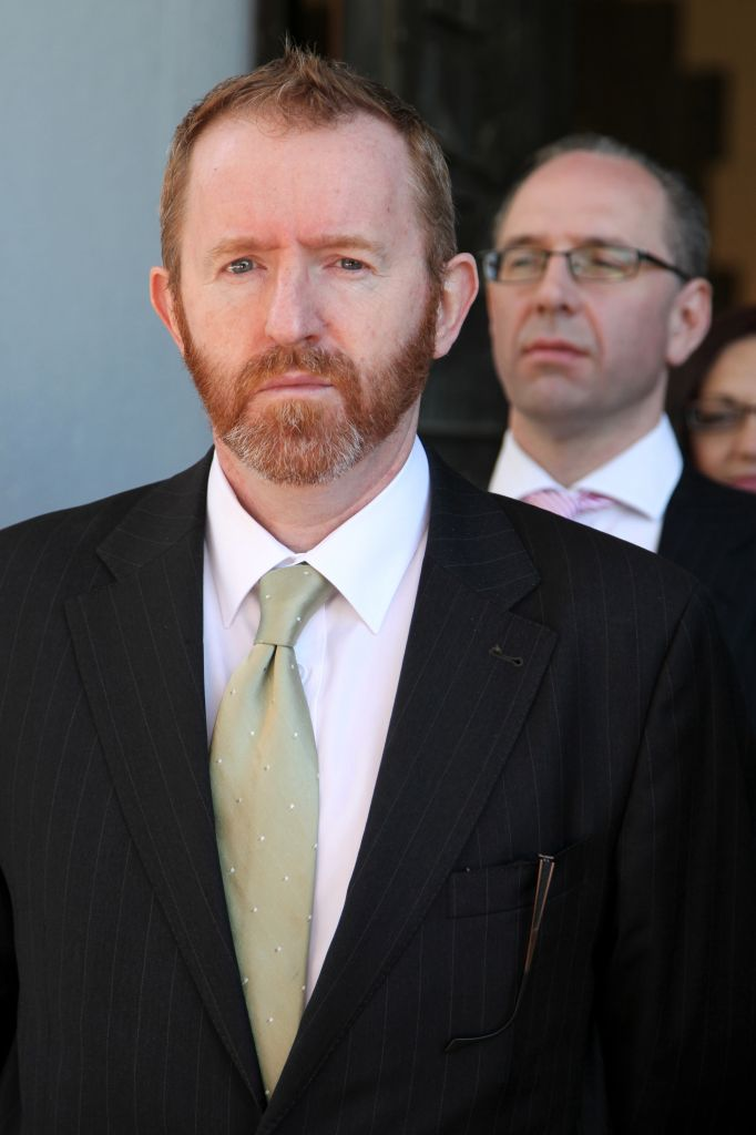 Ambassador Eamonn McKee (photo credit: Isaac Harari/Flash90)