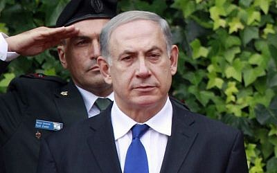 Prime Minister Benjamin Netanyahu reviews the honor guard during an intergovernmental summit with Italian Premier Enrico Letta in Rome, Monday, Dec. 2, 2013. (Photo credit: AP/Gregorio Borgia)