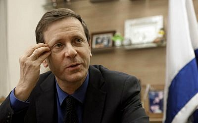 Isaac Herzog (photo credit: AP/Dan Balilty)