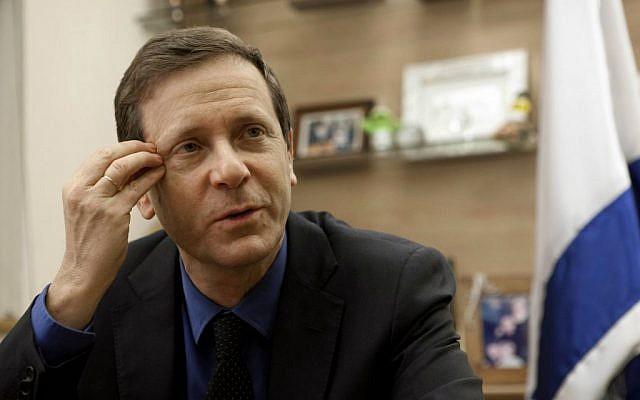 Isaac Herzog (photo credit: AP/Dan Balilty)