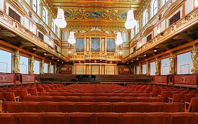 The Golden Hall, home of the Vienna Philharmonic (photo credit: Clemens PFEIFFER, A-1190 Wien, Wikimedia Commons)