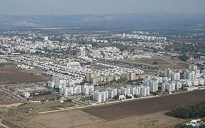 The northern coastal town of Nahariya (photo credit: Wikimedia Commons Public Domain)