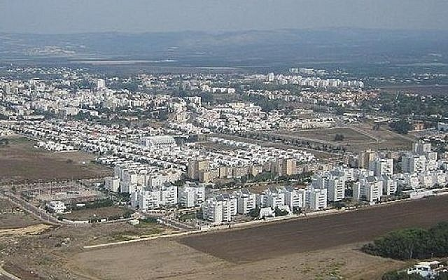 The northern coastal town of Nahariya (photo credit: Wikimedia Commons Public Domain)