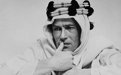 Undated photo of actor Peter O'Toole, the charismatic actor who achieved instant stardom as Lawrence of Arabia. (photo credit: AP)