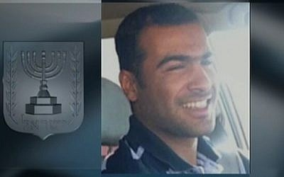 22-year-old Saleh Abu Latif, killed by a Gaza sniper Tuesday, December 12 (photo credit: screen shot/ Channel 2)
