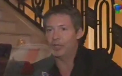 Actor and producer Adrian Suar was the big winner of the night at the Tato Awards in Buenos Aires (photo credit: YouTube screenshot)