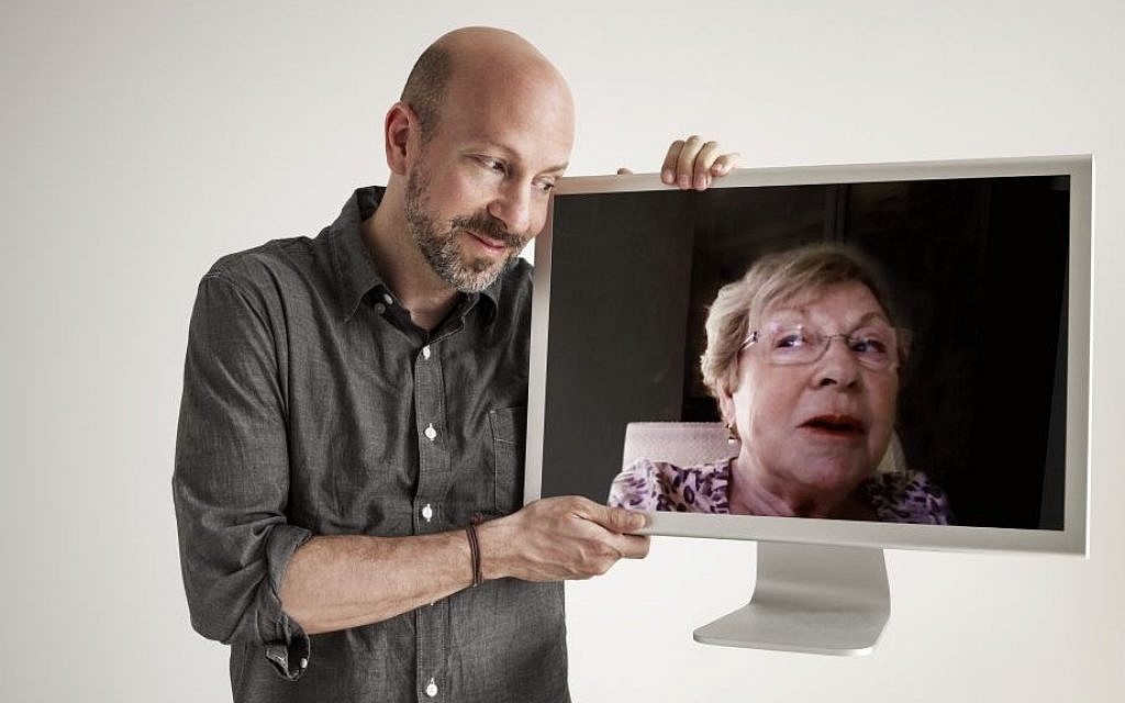 Filmmaker Joshua Seftel and his mother, Pat Seftel, the star of 'My Mom on Movies.' (photo credit: Phillip Toledano)
