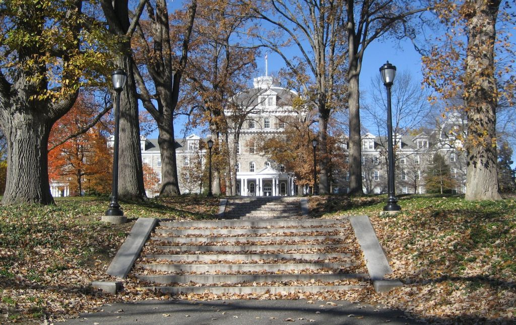 The board at the Hillel chapter of Swarthmore College in Pennsylvania is openly rejecting guidelines on Israel debate adopted by the international umbrella group. (photo credit: Wikicommons/via JTA)