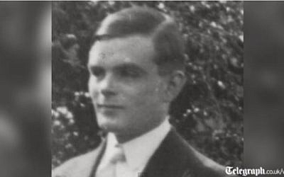British mathematician Alan Turing. (screen capture: Youtube/The Telegraph)