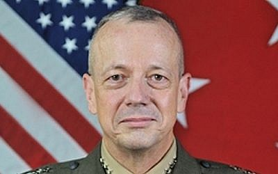 General John Allen (photo credit: US Department of Defense/Wikimedia Commons)