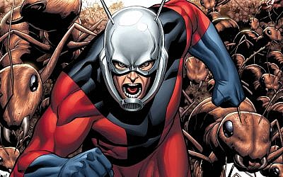Paul Rudd is set to play Ant-Man (photo credit: courtesy Marvel)