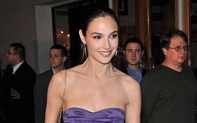 Israeli actress and model Gal Gadot (photo credit: Featureflash / Shutterstock.com)