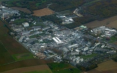 CERN's main site, from Switzerland looking towards France (photo credit: Wikimedia Commons, public domain dedication)