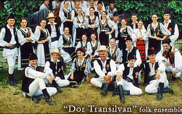 Dor Transilvan ensemble (photo credit: www.dortransilvan.startr.ro)
