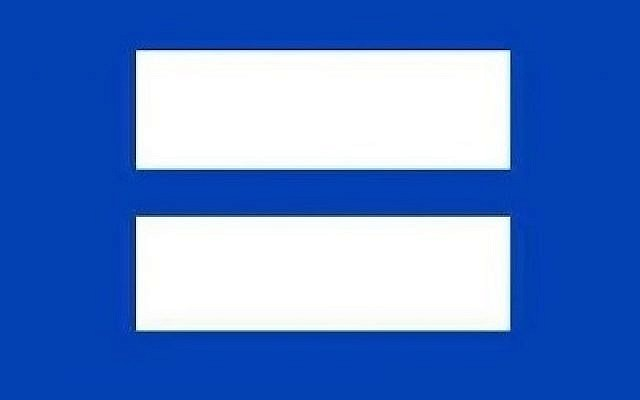 LGBT online activists go blue-and-white | The Times of Israel