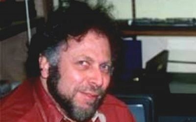 Al Goldstein, the founder of Screw magazine and New York City public-access cable show 'Midnight Blue' (photo credit: CC BY-SA Jeff Goodman, Wikimedia Commons)