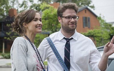 Wait, Seth Rogen plays the square? 'Neighbors' (photo credit: courtesy Universal Pictures)
