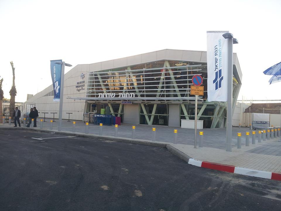 Sderot's train station, December 24, 2013. (photo credit: Transportation Ministry / via Facebook)