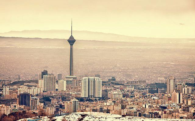 Tehran skyline via Shutterstock
