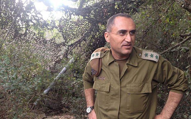 Col. Dr. Tarif Bader (Photo credit: Mitch Ginsburg/ Times of Israel)