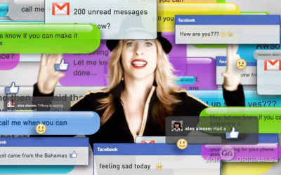 Tiffany Shlain turns off all technology for her Technology Shabbat (Courtesy Tiffany Shlain)