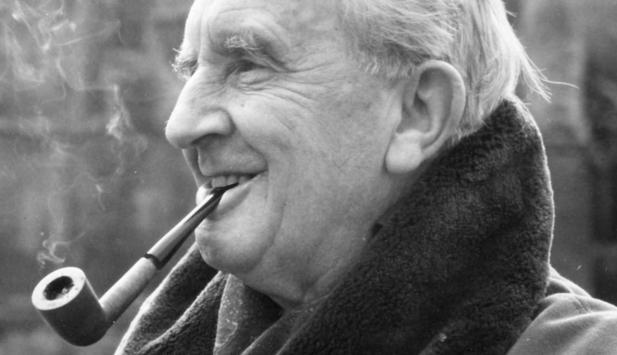 Author J.R.R. Tolkien, creator of Middle Earth and 'The Hobbit' (photo credit: public domain)