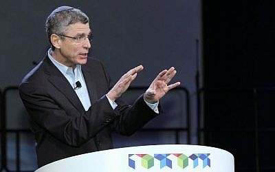 Rabbi Rick Jacobs (photo credit: URJ via JTA)