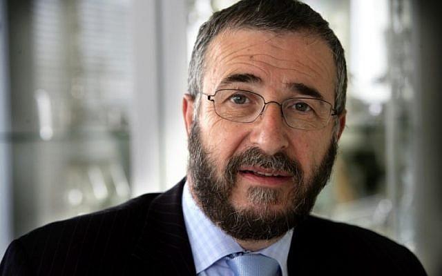 Rabbi Lody van de Kamp (photo credit: JTA)