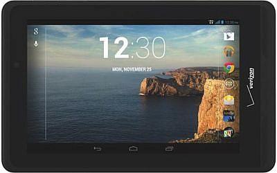 Verizon Ellipsis 7 tablet (Photo credit: Courtesy)