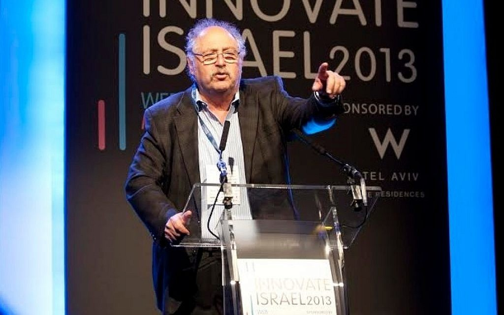 Innovate Israel Co-Chair and tech entrepreneur Yossi Vardi addresses the conference (photo: Blake Ezra Photography)